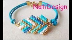 Learn How to use Brick Stitch technique with Delica Beaded Bracelets Tutorial, Bead Loom Bracelets, Bracelet Crafts, Jewelry Crafts, Jewelry Ideas, Flower Earrings, Beaded Earrings, Beaded Jewelry, Handmade Jewelry