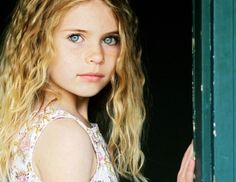 Claire Blue in her younger years