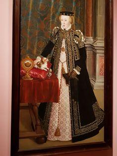 Hans Mielich, Anna of Austria, 1556. Rijksmuseum, Amsterdam