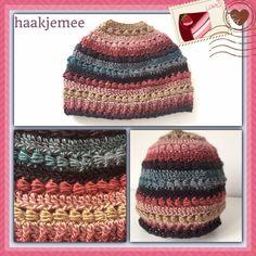 pearly bun beanie crochet pattern 2