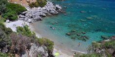 Fotinari Beaches in Plakias, Rethimno, Crete Turquoise Water, Greece Travel, Greek Islands, Rethymno Crete, Places To Visit, Explore, Beaches, Outdoor, Crystal