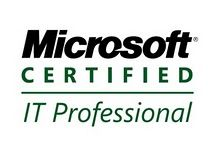 MS Certified IT Professional... next up on my list...