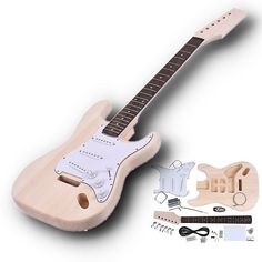 Guitar Parts & Accessories Stringed Instruments 22 Fret Lp Guitar Neck Mahogany Rosewood Fingerboard Sector And Binding Inlay For Lp Electric Guitar Neck Replacement Colours Are Striking