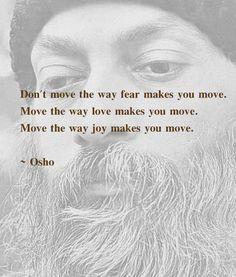 Move the way joy makes you move.