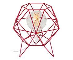 Luminária Coruja Vermelha - 110V