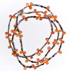 Carnelian Petals necklace - $145 on sale