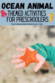 This compilation of toddler and preschool ocean activities is all about animals that live in the ocean. Lots of fun art, fine motor, and sensory ideas! #ocean #beach #theme #activities #art #sensory #finemotor #toddler #preschool #2yearolds #3yearolds #teaching2and3yearolds Ocean Activities, Activities For 2 Year Olds, Animal Activities, Motor Activities, Toddler Activities, Toddler Preschool, Summer Activities, Preschool Speech Therapy, Preschool Themes
