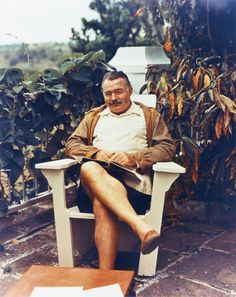 Ernest Hemingway in 1947