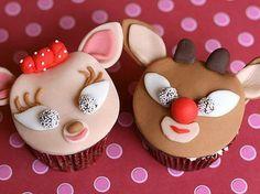 Vrouwblog online magazine voor vrouwenIdeeën voor Kerst cupcakes versieren