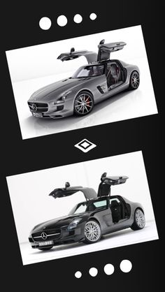 2013 Mercedes-Benz SLS AMG GT - Car review @ Top Speed; Bottom Photo: SLS AMG Gullwing tuned by Brabus - eXtravaganzi.