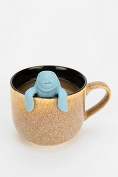 This lil Manatea tea infuser is the cutest tea infuser ever, we think. #urbanoutfitters