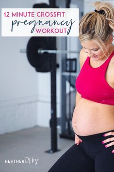 CrossFit Workout safe for pregnancy. There are many benefits to exercise in pregnancy, but it's important to make sure that you are adjusting your workouts to your changing body. When it comes to the long-term health of your core + pelvic floor, what you do for exercise right now, in pregnancy matters so much! CrossFit During Pregnancy exercises. Tips from an expert. A full body work out. Great for at home or at the gym. Prevent Diastasis Recti and strengthen your pelvic floor. Crossfit Workouts At Home, Short Workouts, Crossfit Motivation, Fit Board Workouts, First Trimester Workout, Prenatal Workout, Pregnancy Workout, Pregnancy Fitness, Fit Pregnancy