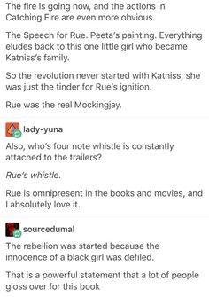 This is ethereal and macabre The way her faint whistle is attached throughout the books and movies Thats a dead girl& Hunger Games Memes, Hunger Games Fandom, Hunger Games Trilogy, Book Memes, Book Quotes, Jandy Nelson, Be My Hero, Little Bit, Catching Fire
