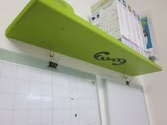 Cricut Organization Station-hang the mats on the wall next to Cricut.  Ingenious! Why didn't I think of that!!