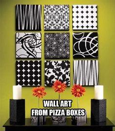 Fun Pizza Box Craft Ideas!!