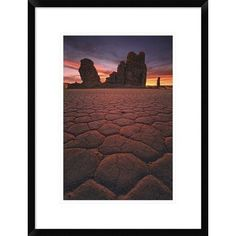 "Global Gallery 'The End' by Sakhr Abdullah Framed Photographic Print Size: 24"" H x 18"" W x 1.5"" D"