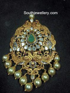 peacock pendant designs