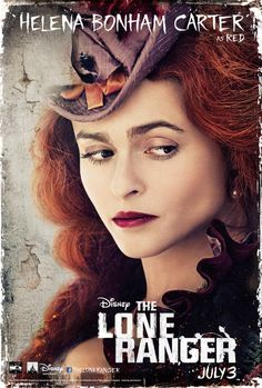 Helena Bonham Carter como Red en el nuevo [POSTER] individual de El Llanero Solitario (The Lone Ranger)