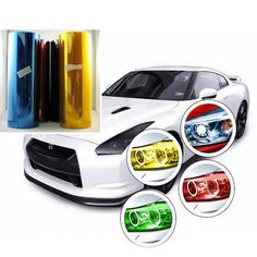 12 Color 30cm x60cm Car Styling Car Light Film Wrap Sheet Chameleon Headlight Taillight Tint Vinyl Film For Car Motorcycle *** Detailed information can be found by clicking on the image