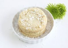 Two Peas & Their Pod Chewy Lime and Coconut Sugar Cookie Recipe Chewy Sugar Cookies, Coconut Cookies, Sugar Cookies Recipe, Coconut Sugar, Yummy Cookies, Yummy Treats, Cookie Recipes, Sweet Treats, Dessert Recipes