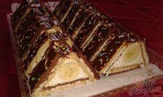 Fotorecept: Trojuholníky z Be-be keksov No Bake Cookies, No Bake Cake, Torte Recepti, Grape Recipes, Cake Bars, Party Desserts, Butter, Mini Cakes, Cakes And More