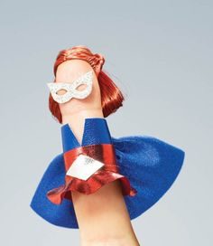 one vinger superheroes! Made by Tamara Maynes, photography by Julian Wolkenstein