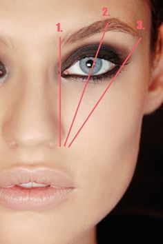 How to correctly shape your brows. http://www.lilylolo.co.uk/sp+eyebrow-duo+019