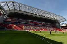 Anfield Stadium, Liverpool:  The Merseyside club have spent the last 18 months redeveloping the Main Stand at their historic home ground, with the modifications having added more than 8,000 seats to the stadium.  The stand makes Anfield the fifth-largest stadium in the Premier League after Manchester United's Old Trafford, Arsenal's Emirates Stadium, West Ham's London Stadium and Manchester City's Etihad Stadium.
