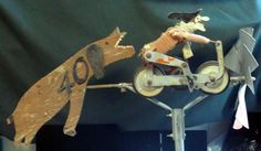 Witch Whirligig   Lewis Bobrick Antiques