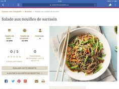 Japchae, Ethnic Recipes, Food, Salad, Kitchens, Asian, Essen, Meals, Yemek