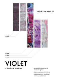 Do you have violet in your space?