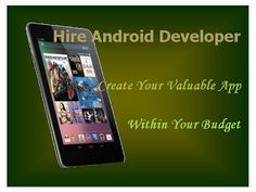 At Mobile Apps Development Team (MADT), professional android app developer offers a comprehensive and inexpensive Android application development services for all types of business needs with the latest Android SDK.