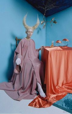 Tim Walker and Tilda Swinton for i-D Magazine Summer 2017, in homage to Leonora Carrington.