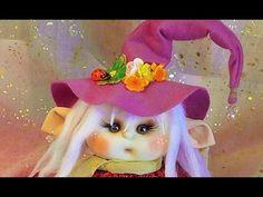 gorro de muñeca duende articulado ,manualilolis, video- 60 - YouTube