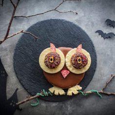 Eulenkuchen ganz einfach? Kein Problem! 18 Cake Bars, Happy Halloween, Nom Nom, Breakfast Recipes, Crochet Earrings, Birthday Cake, Form, Sweet, Desserts