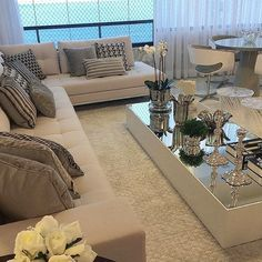 How To Quickly And Easily Create A Living Room Furniture Layout? Modern Home Interior Design, Home Room Design, Modern Contemporary Homes, Modern Wall, Sitting Room Decor, Living Room Entertainment Center, Living Room Furniture Layout, House Rooms, Home Living Room