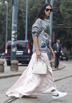 How to style a long skirt - Telegraph