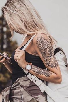 Jan 2020 - If you are looking for some inspiration for lion tattoos for women and planning to get a lion tattoo on your body then you are good to be here. Lion Tattoo Half Sleeve, Lion Tattoo On Finger, Lion Tattoo On Thigh, Lion Forearm Tattoos, Flower Thigh Tattoos, Body Art Tattoos, Hand Tattoos, Small Tattoos, Girl Tattoos