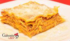 Lasagna Bolognese on http://www.gatesteusor.ro