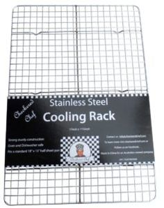 Checkered Chef Cooling Rack Baking Rack. Stainless Steel Oven and Dishwasher…