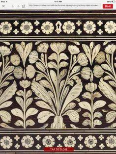 Mughal chest detail