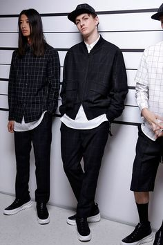 Public School gents New York Fashion, Mens Fashion, Style Fashion, 2016 Fashion Trends, Mens Trends, Stylish Boys, How To Pose, Gentleman Style, Spring Summer 2016
