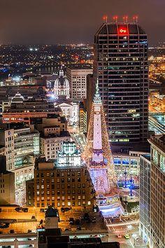 Downtown Indianapolis - Wikipedia
