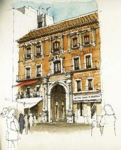 Málaga, pasaje de Chinitas