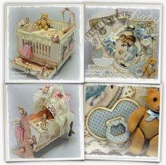 Cards made by Chantal: Nursery set by Sandra's Scrapshop!