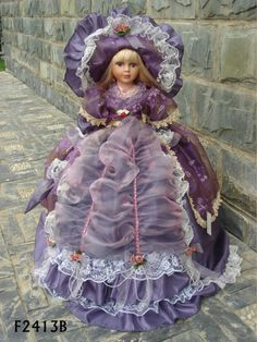handmad porcelain doll
