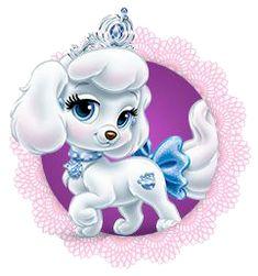 Cinderella's puppy - Pumpkin (Drawing by Disney) Cartoon Wall, Cartoon Kids, Cute Cartoon, Disney Cartoon Characters, Disney Cartoons, Princess Palace Pets, Gata Marie, Disney Princess Cinderella, Princess Drawings