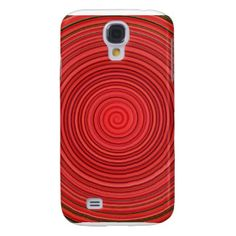 Aggelikis Red Coil Design Galaxy S4 Case