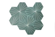 Dandelion – bottle green/canvas (16mm thick) | MarrakechDesign