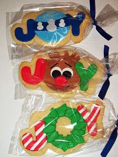 Inspiration for this year's annual Christmas cookie/candy making!